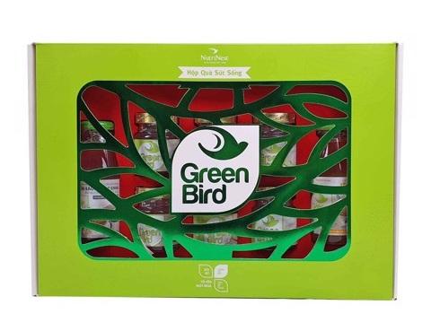 Nước yến 8 món hộp quà Sức Sống Green Bird