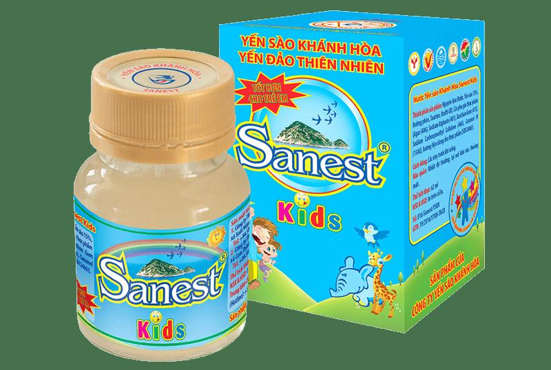 Yến nước trẻ em Sanest Kids Khánh Hòa 62ml