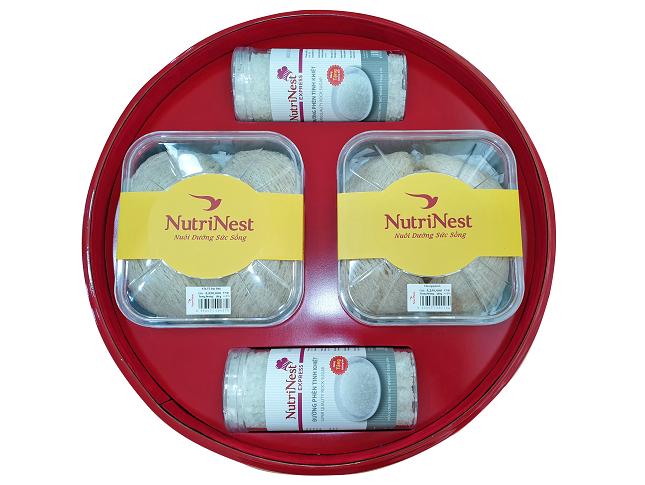 Quà Tặng Trống Đồng Yến Nguyên Tổ Đặc Biệt Hộp 200g - Nutri Nest