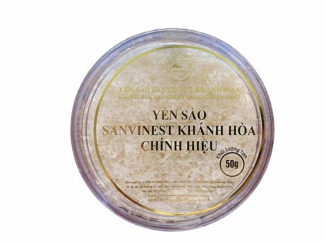 Yến sào Sanvinest Khánh Hòa chính hiệu tinh chế 50g